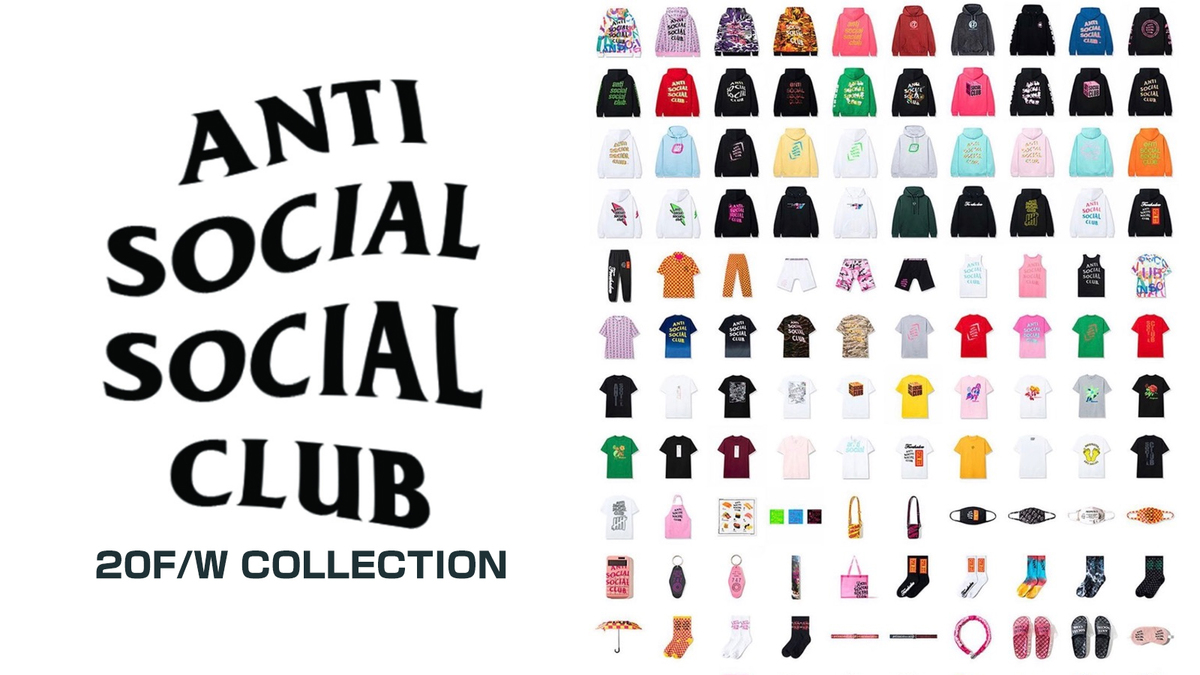 ANTI SOCIAL SOCIAL CLUB取り扱い開始!
