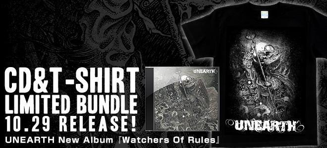 UNEARTH New Album Bundle Release!!
