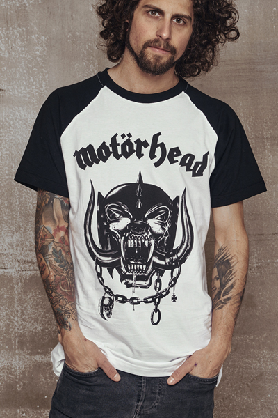 MOTORHEAD Everything Louder Raglan Tee
