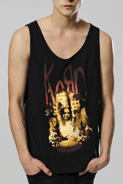 KORN Face in the Fire Tanktop