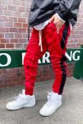 mnml(ミニマル)  TRACK PANTS RED