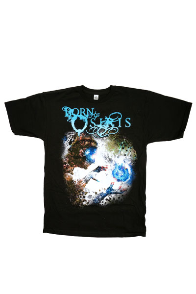 BORN OF OSIRIS Album Art Black T-Shirt