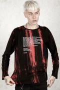 DISTURBIA CLOTHING Pagliacci Tie Dye Long Sleeve T-Shirt