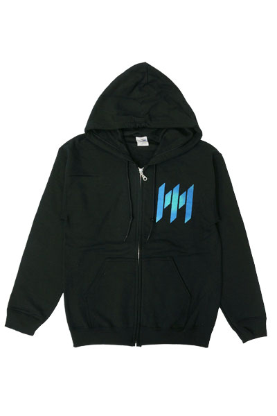 MEMPHIS MAY FIRE Ordinary Love Black Zip-Up Sweats