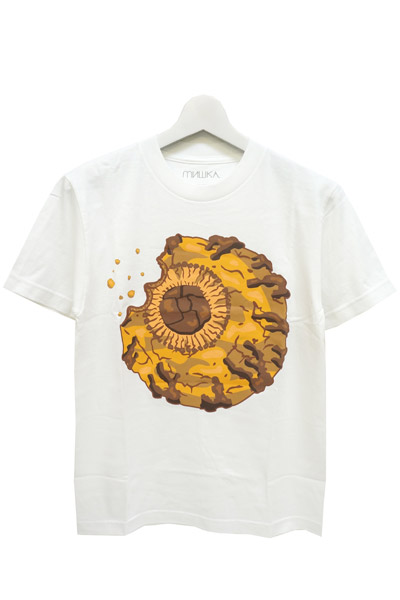 MISHKA (ミシカ) COOKIE KEEP WATCH TEE WHITE