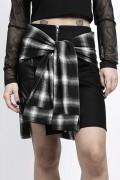 DISTURBIA CLOTHING Dislocate Skirt