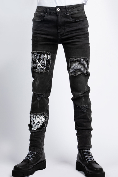 DISTURBIA CLOTHING Chaos Jeans