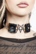 DISTURBIA CLOTHING Stellar Choker
