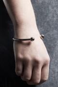 DISTURBIA CLOTHING Halo Cuff Bracelet