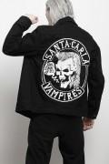 DISTURBIA CLOTHING Lost Boys Denim Jacket Black