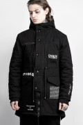 DISTURBIA CLOTHING Dissent Parka