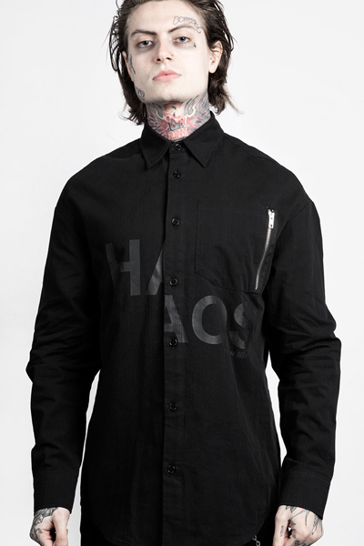 DISTURBIA CLOTHING Chaos Shirt