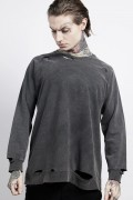 DISTURBIA CLOTHING Disorder Raglan Sweatshirt