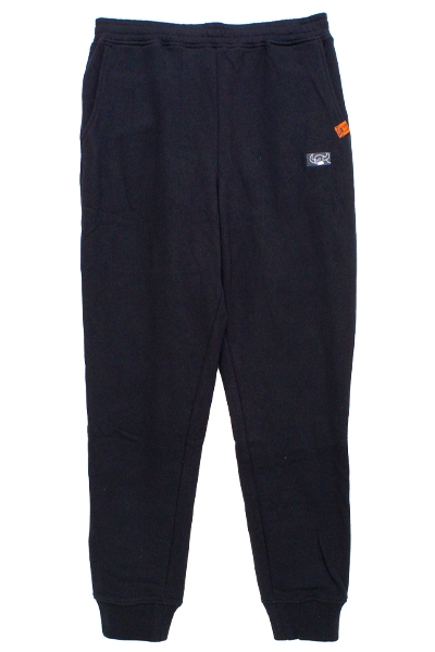 TOY MACHINE TMP19SW11 SQUARE MONSTER SWEAT PANTS BLACK