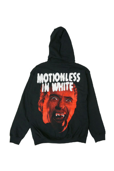 MOTIONLESS IN WHITE Dracula Black Hooded Zip Up