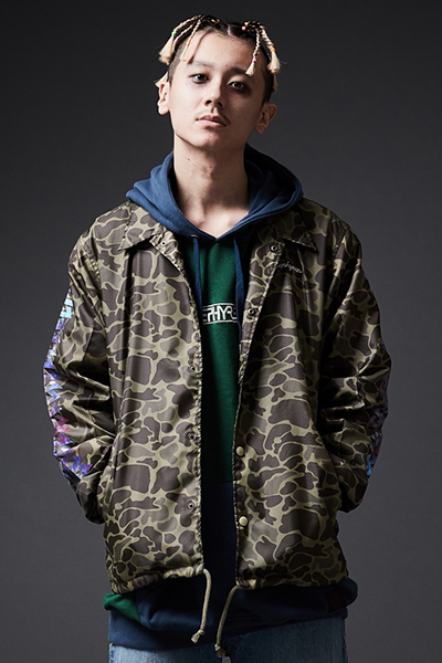 Zephyren(ゼファレン)COACH JACKET / Cut the world CAMO 1