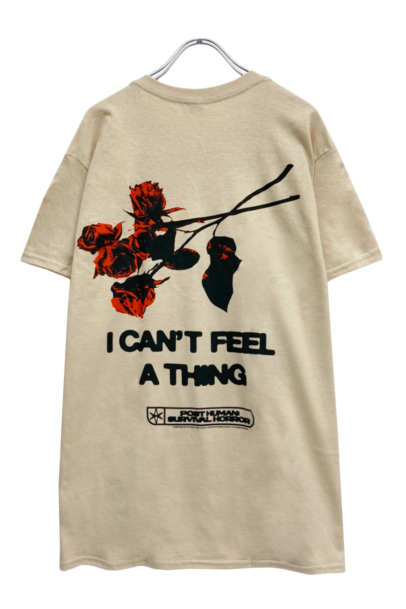 BRING ME THE HORIZON UNISEX TEE: FLOWERS (BACK PRINT)