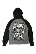 BLESS THE FALL Hollow Bodies Black/Grey Zip-Up