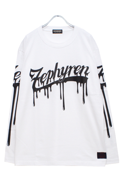 Zephyren(ゼファレン)L/S TEE -BEYOND PAINTED- WHITE