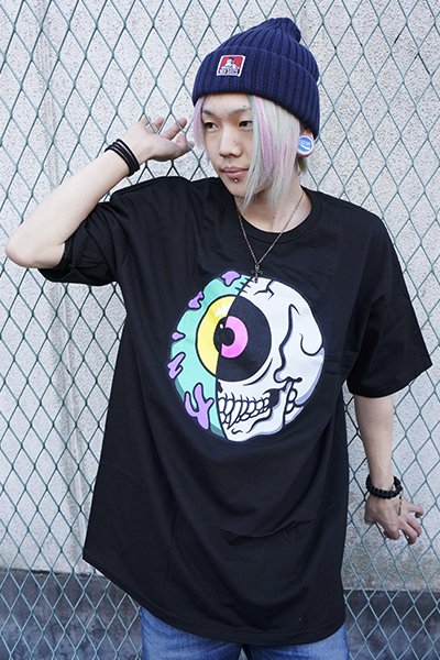 MISHKA(ミシカ) CYCO KEEP WATCH T-SHIRT FL 171113 BLK