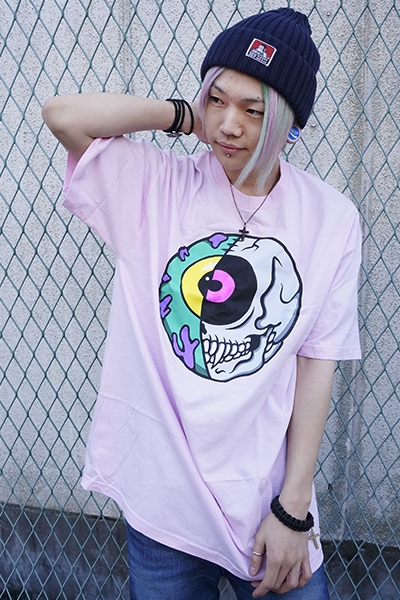 MISHKA(ミシカ) CYCO KEEP WATCH T-SHIRT FL 171113 PNK