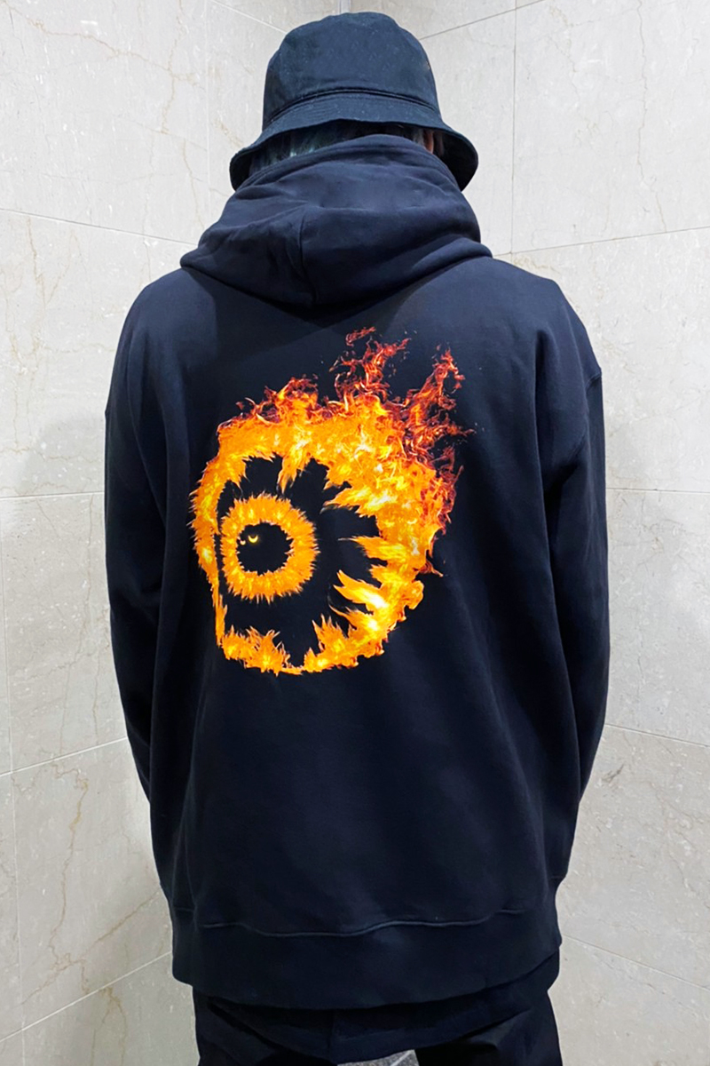 MISHKA FLAMING KEEP WATCH HOODIE