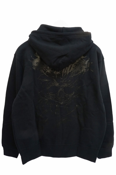 Gluttonous Slaughter (グラトナス・スローター) I Need You Dead Zip-UP HOODIE BLACK
