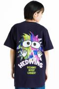 "HEDWiNG Pocket ""MOJYAPON"" T-shirt Navy"