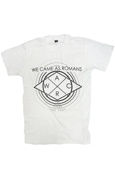 WE CAME AS ROMANS Fade Away White