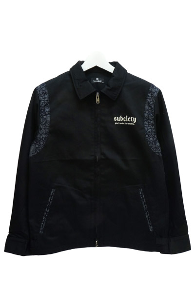 Subciety (サブサエティ) WORK JACKET-Trust- BLACK