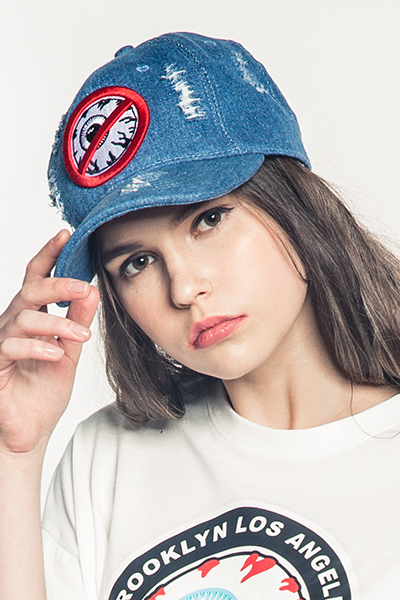 MISHKA (ミシカ) MSS183212 DENIM CAP