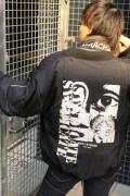 NOT COMMON SENSE SYNDICATE MA-1 JKT BLACK