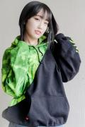 "HEDWiNG HD6-008 Cross Cut ""Tye-die"" Hoodie type-A"