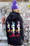 acOlaSia poison hoodie  BLACK