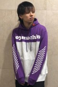 TOY MACHINE TMP19SW15 TOYMACHINE LOGO SWEAT PARKA PURPLE