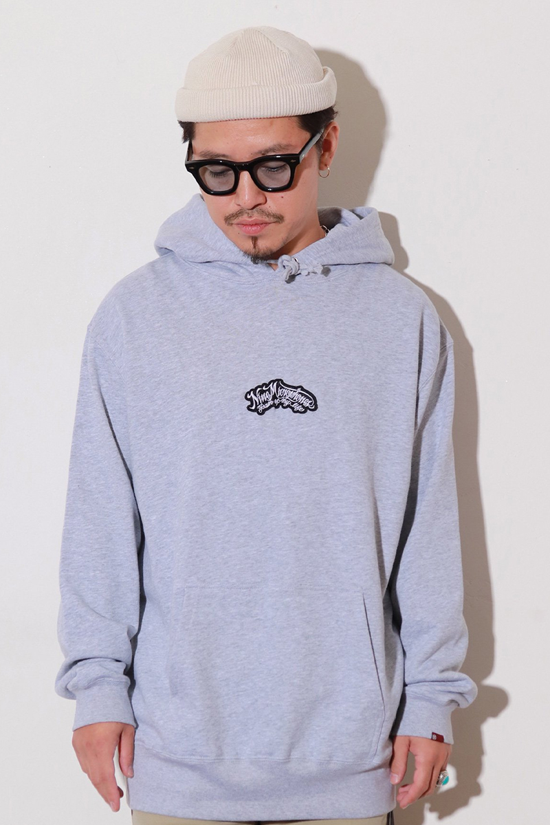 NineMicrophones PARKA-Pain of My life GRAY