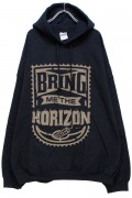 BRING ME THE HORIZON DYNAMITE HOODIE charcoal