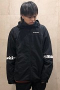 TOY MACHINE TMP19JK18 TOYMACHINE LOGO WIND JACKET BLACK