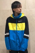 TOY MACHINE TMP19JK18 TOYMACHINE LOGO WIND JACKET BLUE