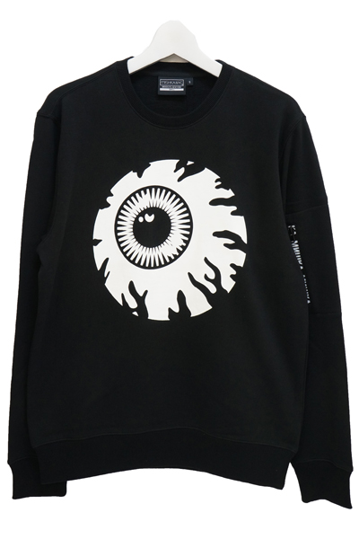 MISHKA (ミシカ) MSS170405 KEEP WATCH SWEATSHIRT BLACK