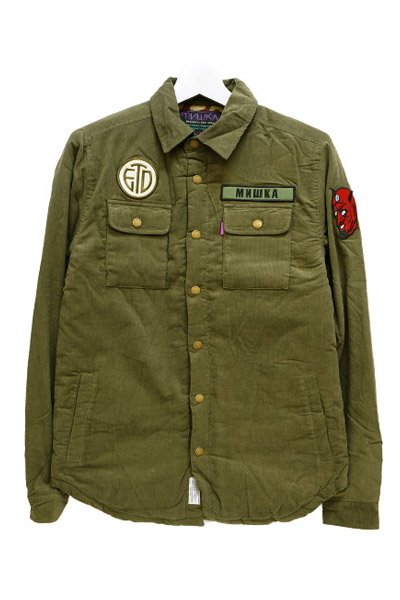 MISHKA (ミシカ) RAKE CPO JACKET ARMY GREEN