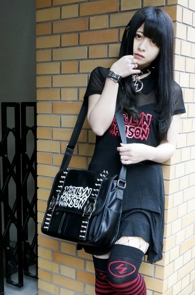 MARILYN MANSON×KILL STAR CLOTHING Sedate Skater Dress