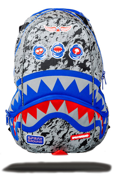 SPRAY GROUND 3M SPACE EXPLORER MOON SHARK DLXX