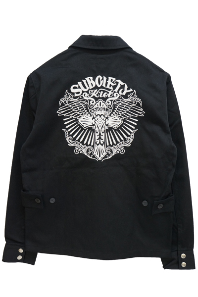 Subciety EMBROIDERY JKT Riot Angels