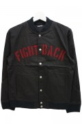 NineMicrophones TEAM JKT -FIGHT BACK- BLK/BUR