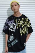MISHKA M21000030 T-Shirt BLACK