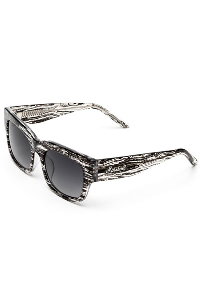 Marshall AMY SUNGLASSES Crystal Wood