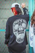 GoneR × LESSTRESS GR24LSW00 GoneR × LESSTRESS L/S T-Shirts Black