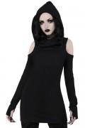 KILL STAR CLOTHING Bibliomancy Hooded Top [B]