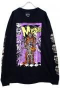 MISHKA x MISFITS Halloween L/S Tee BLACK